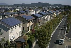 Kuće s fotonaponom u Japanu