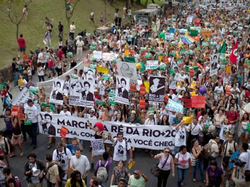 Rio+20 marš