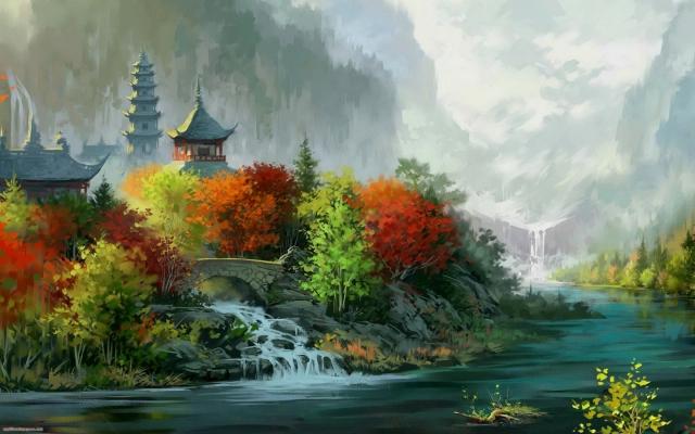 Kinesko slikarstvo widescreen
