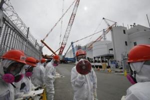 Fukušima radnici