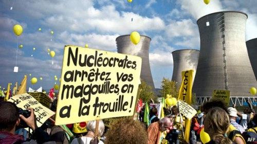 Prosvjedn protiv NE u Francuskoj