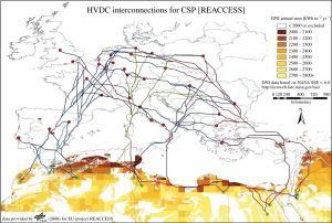 EU- Sjev Afrika HVDC interconections for CSP