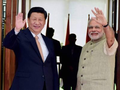 Modi (India) i Hi Đinping (Kina)