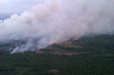 15-06-29- Šumski požar u Černobilskoj zoni