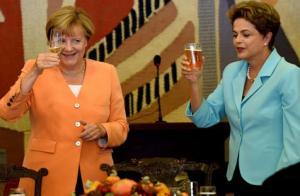 Merkel i Rousseff, 15-08-20 (Reuters)