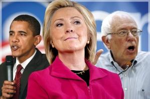 Bbama, Clinton, Sanders