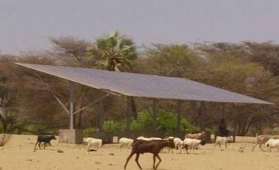 Etiopija- solarni paneli