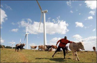 Kenija- vjetroelektrana