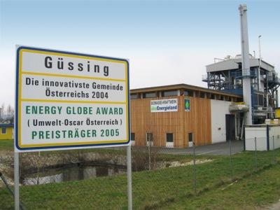 Guessing  biomassekraftwerk