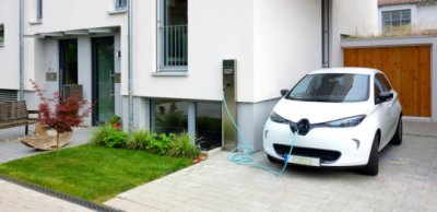 Solar veghicle charging et home