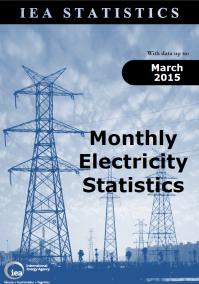IEA OECD Monthly Elec Statistics